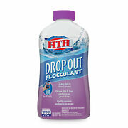 Hth Drop Out Flocculant For Pools Drops Particles Overnight 1 Qt Free Shipping