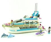 Lego Friends Dolphin Cruiser 41015 Complete With Manual Minifigures 2013 Retired