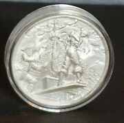 ☠☠☠ Pirate Coin … Elemetal The Plank 2 Oz Silver Ultra High Relief Round ☠☠☠