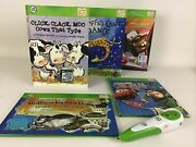 Leap Frog Tag Books Electronic Pen Cars Math Reading Memory Educational Learning