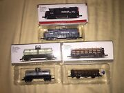 High Speed Metal Products Southern Pacific Locomotive 9725 Tank Log Var N Scale