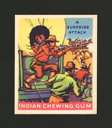 1933 Goudey Indian Gum 182 A Surprise Attack From Original Collection