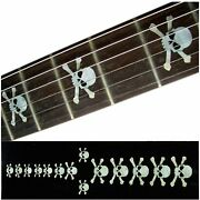 Inlay Sticker Fretboard Position Marker For Guitars And Bass White Pearl.