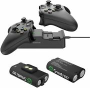 Smatree Controller Charger For Xbox One Dual Charging Station Black