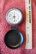 Swiss Army Dual Time Travel Alarm Clock For Parts Not Working