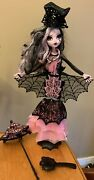 Monster High Adult Collector Limited Edition Draculaura Doll Accessories Mattel