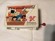 Disney It's A Small World Music Trinket Box, Made In Japan