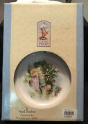 Disney Royal Doulton Child Feeding Set 3 Pieces ''classic Pooh'' Cup, Plate Bowl