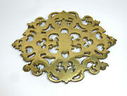 Rare Coasters Made From Bronze England Netherlands Approx. 1800