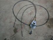 Mercury 40hp Outboard Engine Boat Engine Control Drive Cables Lines
