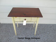 51652 Callowhill Decorator Shaker Style Lamp Table Stand W/ Drawer