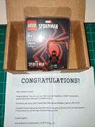 Lego Ps5 Spider-man Miles Morales Minifigure From The Be Greater Sweepstakes