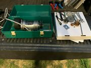Themac J35 1/3 Hp Precision Tool Post Grinder 5500 To 45000 Rpm W/accessories