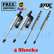 Fox Front 4-6 And Rear 6-8 Lift Shocks For Ford F450 Cab Chassis/utility 05-07