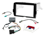 Double Din Kit And Plug N Play Sony Radio Harness For 2014-21 Harley Davidson