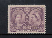 Canada 62 Mint Fine - Very Fine Never Hinged With Certificate