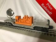 Lionel 6520 Post-war Vintage Operating Searchlight Car Very Clean With Box Rare