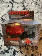 Vintage Tomy R.a.t.s Spitfire Motorized Disc Fire Action Nib 1998