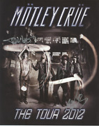 Motley Crue Band Signed Autographed Poster Amco 8498