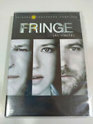 The Fringe First Season 1 Complete Series Tv - 7 X Dvd Spanish English - 3t
