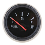 2 52mm Boat Sail Auto Electrical Fuel Gas Level Gauge 0-190 Ohms Universal