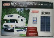 Coleman 100w Solar Panel With 8.5 Amp Charge Controller Model 38108