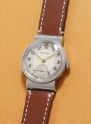 Eterna Round Style Cal.600 Ss Snap Back Case 28.6mm Manual Winding 1930s