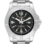 Breitling Colt Black Dial Stainless Steel Mens Watch A74388