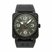 Bell And Ross Br03-92 Military Gi Joe Auto Pvd Steel Mens Watch Br0392-mil-ce