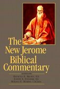 The New Jerome Biblical Commentary Paperback Raymond Edward Brown
