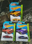 2013 Hot Wheels 3 Chevy Camaro Hw Workshop Limited Edition Lot Collectibles