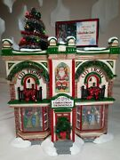 Dept 56 Snow Village City Lights Christmas Trimmings Lots Of Colored Lights
