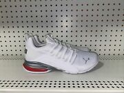 Momenta Ripstop Mens Athletic Running Shoes Size 8 White Red Gray