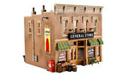 Woodland Built-n-ready Lubener's 2-story General Store - O Scale Model Railroad