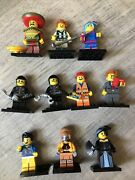 The Lego Movie Collectible Minifigures Series Lot Of 9. Adult Owned