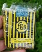 Vintage Yellow And Black Fcandg Virginia Cigarette Pack Faber Coe And Gregg Empty