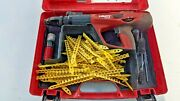 Hilti Dx 460-f8 Concrete Fastener Nailer Powder Actuated Gun With Case Tested