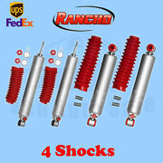 Rancho Rs9000xl Frontandrear 0-1.5 Lift Shocks For Jeep Wrangler Yj 4wd 86-96