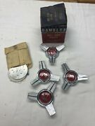 1960's Rambler Wheel Cover Spinners 8991544