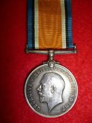 Ww1 British War Medal To Corporal Wood, Military Foot Police