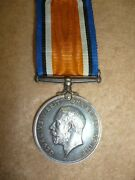 Ww1 British War Medal To Lance Corporal Greenaway, Military Foot Police