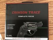 Crimson Trace Lg-415g Green Lasergrips - Front Activation For Ruger Lcr/lcrx