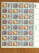 Scott 1538-1541- Mineral Heritage 10 Cent Stamp Sheet Of 48 -mnh