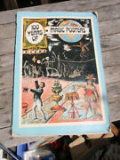 Vintage Large Book 100 Years Of Magic Posters 16 X 11 Inches 1976