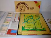 Vtg 1979 Original The Farming Game Board Game - Never Used