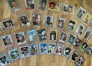 1952 - 1987 Topps Baseball Collection - 35 Cards - One From Every Year - Look