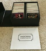 Rare Madonna Boxed Cd Single Collection 40 Cd's Song Booklet 3 Format Japan