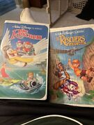Disney The Rescuers And Down Under Black Diamond Vhs Movies The Classics 1399 1142