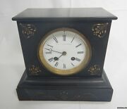 Shepard Le Boutillier And Co Vintage Mantel Clock W/ Hour Strike Chime
