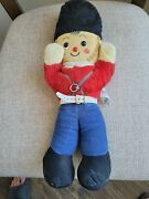 Vintage Musical Wind-up Knickerbocker Toy Soldier / Very Good Condition